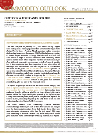 Commodity Outlook 2018 featuring Copper and more