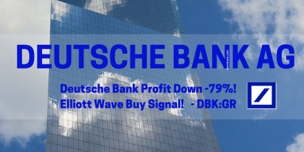 Deutsche Bank - Buy Signal!  by WaveTrack International