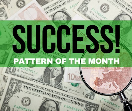 WaveTrack ElliottWave 440x368 EURO vs. USD   Success Pattern of the Month